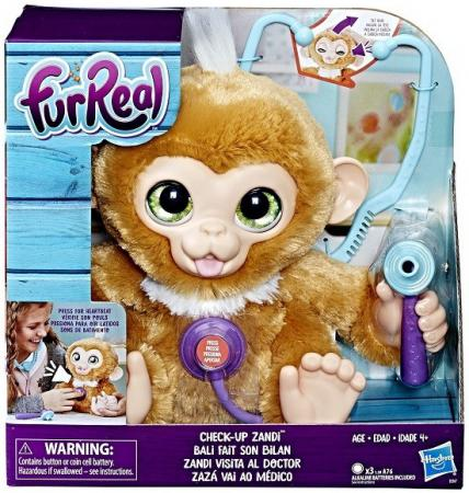 Игрушка Hasbro Furreal Friends Вылечи Обезьянку цена 2017