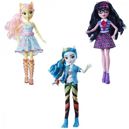 Фото - Игрушка Hasbro MLP кукла ДЕВОЧКИ ЭКВЕСТРИИ (в ас-те) кукла eg кукла в ас те