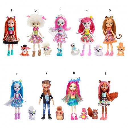 Игрушка Enchantimals Кукла с питомцем mattel enchantimals frh40 кукла с питомцем волчица винсли