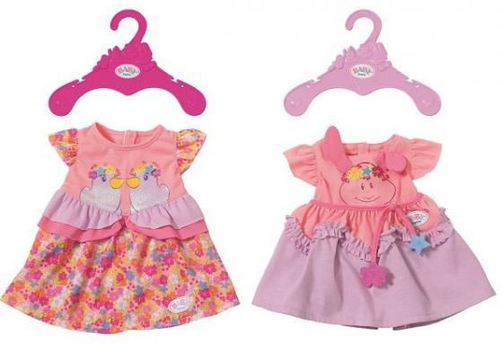 Платье для кукол Zapf Creation Платья платья monoroom платье one color