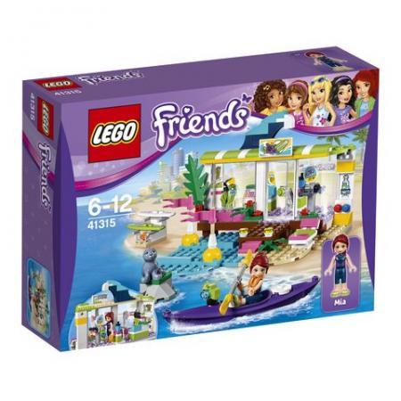 Конструктор LEGO Сёрф-станция 41315 lego friends сёрф станция 41315