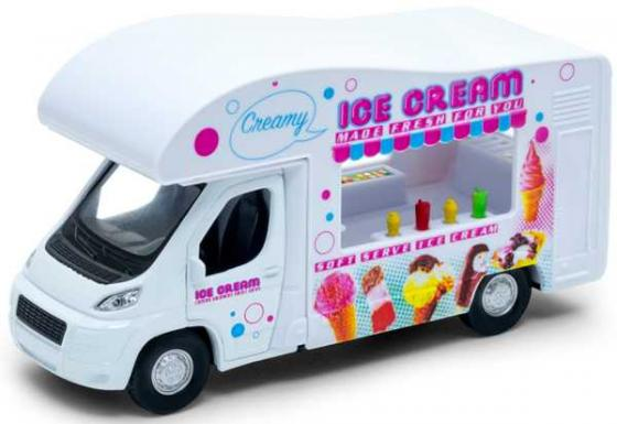 Автомобиль Welly Ice cream Van белый 92659