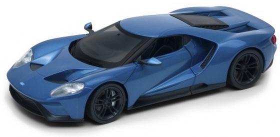 Автомобиль WELLY Ford GT 1:24 цвет в ассортименте 24082 автомобиль jada toys ford coe 1 24 в ассортименте