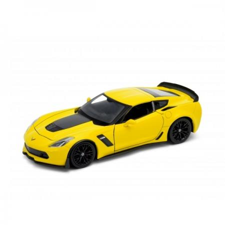 Автомобиль Welly Chevrolet Corvette 1:24 цвет в ассортименте welly 1 24 pagani huayra 84021