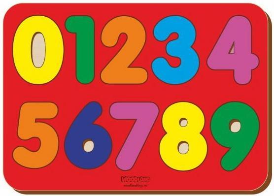 Вкладыш деревянный Изучаем цифры, дерев.крашен., в асс-те вкладыш mapacha изучаем цифры 76686