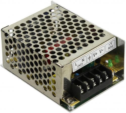 Блок питания ORIENT PB-0210 Импульсный блок питания, AC 100-240V/ DC 12V, 3.5A, стабилизированный, защита от КЗ и перегрузки, ручная рег-ка Uвых, винт