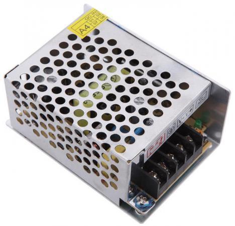 Блок питания ORIENT PB-0405 Импульсный блок питания, AC 100-240V/ DC 12V, 5.0A, стабилизированный, защита от КЗ и перегрузки, ручная рег-ка Uвых, винт блок питания orient pb 40u3 output 12v dc 20a стабилизированный защита от кз и перегрузки imax 21 5a регулятор напряжения 3 выхода металличес