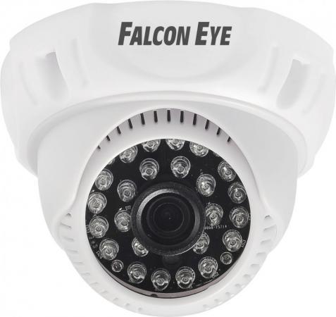 Камера Falcon Eye FE-D720MHD/20M-2,8 Купольная цветная гибридная видеокамера(AHD, CVI, TVI, CVBS), 1/4' OV9732 1 Megapixel CMOS, 1280?720(25 fps), чув камера наблюдения orient ahd 34 if1b 4 4 режима ahd tvi cvi 720p 1280x720 cvbs 960h 1 4 silicon optronics 1mpx cmos sensor h62 fh8532e dwdr dn