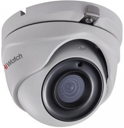 Камера HiWatch DS-T503 B (2.8-12 mm) 5Мп уличная HD-TVI камера с ИК-подсветкой до 20м1/2.7 CMOS матрица; объектив 2.8мм; угол обзора 86.5°; 2592x194 камера hiwatch ds t201 2 8 mm 2мп внутренняя купольная hd tvi камера с ик подсветкой до 20м 1 2 7 cmos матрица объектив 2 8мм угол обзора 103°