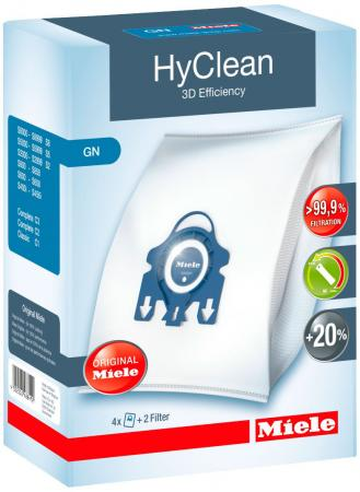 Мешки для пылесосов Miele GN HyClean 3D Efficiency синие push button switch xb4 series zb4br3 zb4 br3