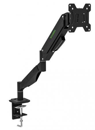 Фото - Кронштейн для мониторов Tuarex ALTA-511, для LCD мониторa 15-32, настольный, VESA 100х100, max 7 кг, Черный кронштейн для мониторов tuarex alta 502