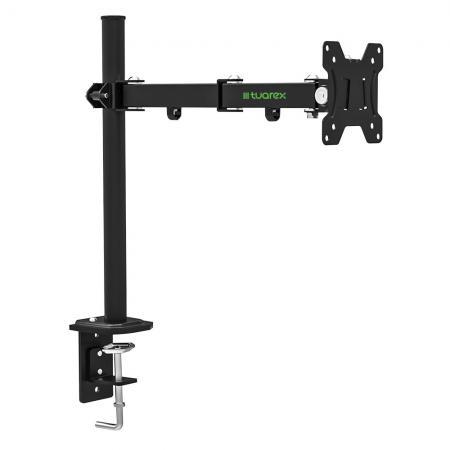 Фото - Кронштейн для мониторов Tuarex ALTA-502, для LCD мониторa 15-32, настольный, VESA 100x100, max 8 кг, Черный кронштейн для мониторов tuarex alta 502