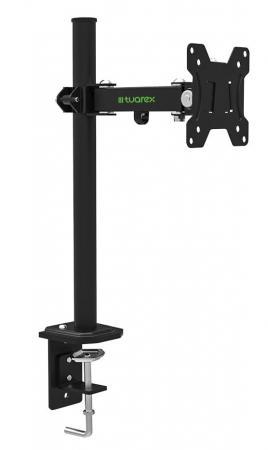 Кронштейн для мониторов Tuarex ALTA-501, для LCD мониторa 15-32, настольный, VESA 100x100, max 8 кг, Черный кронштейн для телевизоров tuarex ultra 6