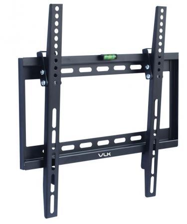 Кронштейн VLK TRENTO-34 черный 26-65 фиксированный от стены 25мм VESA 400х400мм до 40кг цена