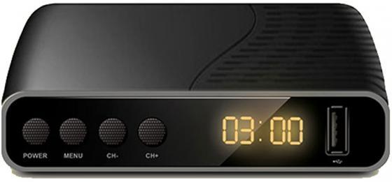 лучшая цена Цифровой телевизионный DVB-T2/DVB-C ресивер Gmini MagicBox NT2-140 , 2xUSB, поддержка USB Wi-Fi модулей