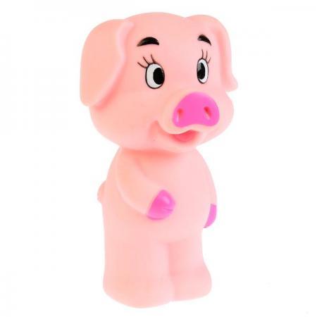 Игрушка для купания для ванны ИГРАЕМ ВМЕСТЕ Свинка 10 см игрушки для ванны играем вместе заводная игрушка играем вместе черепашка