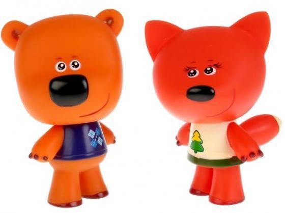 Игрушки пластизоль для купания Играем вместе Мимимишки (Лисичка и Кеша) в сетке в кор.50шт LX-M305 игрушки пластизоль для купания играем вместе мимимишки лисичка и тучка в сетке в кор 50шт