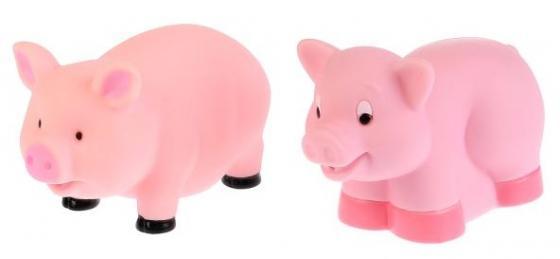 Игрушки пластизоль для купания Играем вместе Свинки (выс. 6см и 5см) в сетке (русс. уп) в кор.50шт игрушки пластизоль для купания играем вместе малышарики барашек в сетке русс уп в кор 100шт