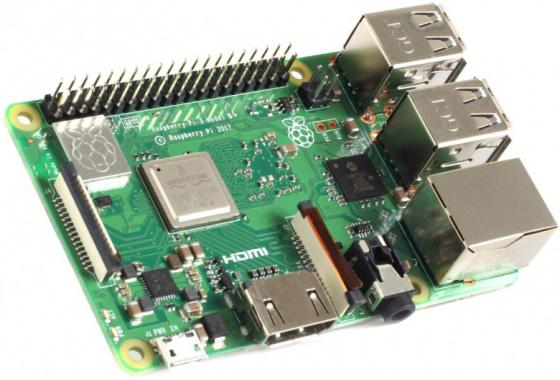 Микрокомпьютер Raspberry Raspberry Pi 3 Modell B+ 2016 raspberry pie 3 generation b raspberry pi model 3 b board on wifi and bluetooth spot