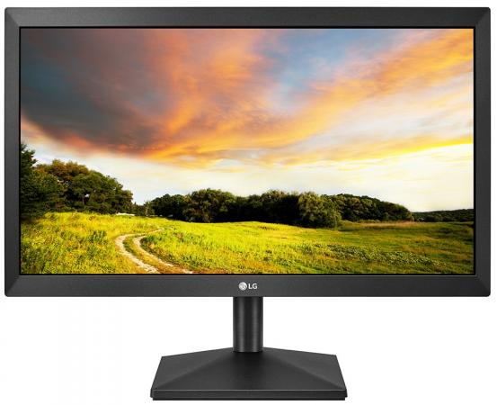 Монитор LG 19.5 20MK400A-B черный TN+film LED 5ms 16:9 матовая 600:1 200cd 1366x768 D-Sub HD READY 2.3кг