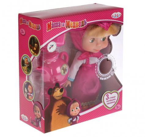 Фото - Кукла КАРАПУЗ МАША И МЕДВЕДЬ 25 см 83033T кукла карапуз маша в костюме матроса 25 см