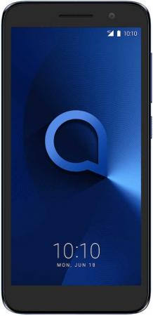 Смартфон Alcatel 1 5033D синий 5 8 Гб LTE Wi-Fi GPS 3G Bluetooth смартфон bq aquaris u2 черный 5 2 16 гб nfc lte wi fi gps 3g c000291