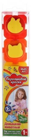 Пальчиковые краски Multi Art Домашние животные 5 цветов 1515-HA smile ha 1076