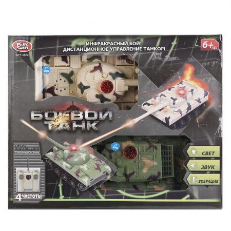 Танк Play Smart 9672 хаки B503-H08021