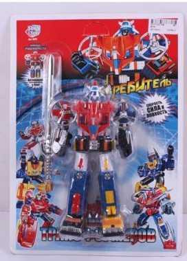 Робот-трансформер PLAYSMART РОБОТ ИСТРЕБИТЕЛЬ G017-H21168