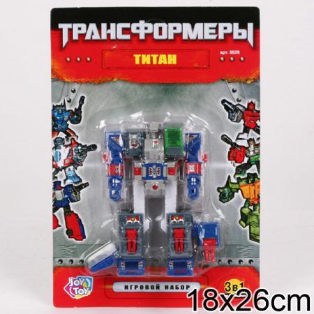Робот-трансформер PLAYSMART 8028 G017-H21074 стоимость