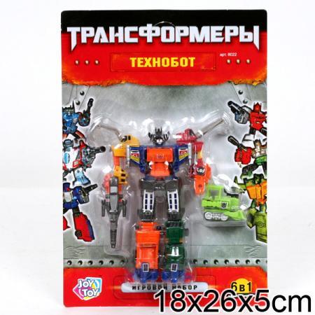 Робот-трансформер PLAYSMART 8022 G017-H21068 стоимость