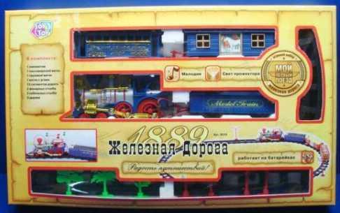 Железная дорога PLAYSMART ЖЕЛЕЗНАЯ ДОРОГА 0619 с 3-х лет A147-H06314