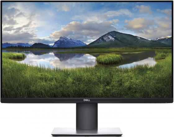Монитор 27 DELL P2719H черный IPS 1920x1080 300 cd/m^2 5 ms HDMI DisplayPort VGA USB 2719-2422 монитор 23 dell e2318h черный ips 1920x1080 250 cd m^2 8 ms displayport vga 2318 6882