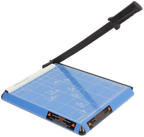 Резак сабельный ГЕЛЕОС РС A4-1, А4, 12 листов (70г/м?), длина реза 300мм., металл. гелеос рс a3 2 blue резак сабельный