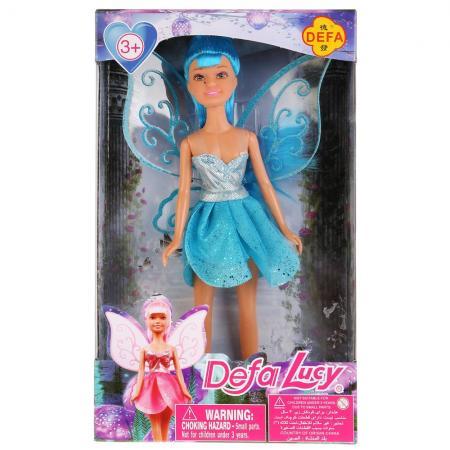 Купить Кукла DEFA LUCY Кукла с крыльями 24 см DF8317, пластик, текстиль, Классические куклы и пупсы
