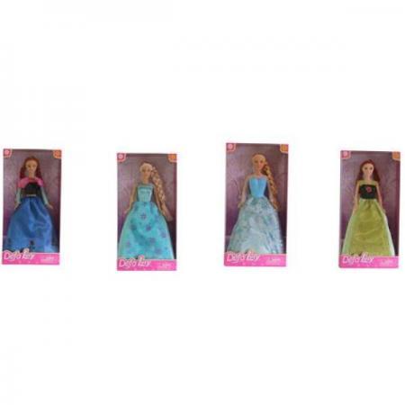 Купить Кукла DEFA LUCY КУКЛА 33 см DF8326, пластик, текстиль, Классические куклы и пупсы