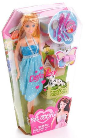 Кукла DEFA LUCY 8073 33 см в ассортименте кукла defa lucy 8355