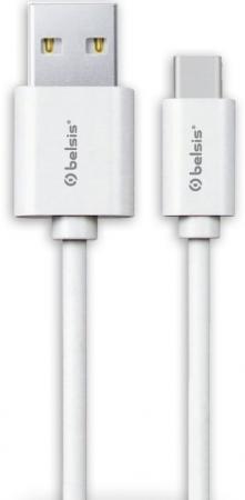 Кабель Lightning Belsis BS3015 круглый белый акустический кабель 2х2 5 мм2 14 ga плоский белый belsis bw7002w