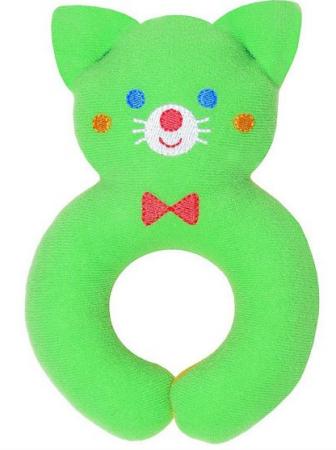 Мягкая игрушка кот МЯКИШИ Мистер Том 14 см зеленый трикотаж мягкая игрушка погремушка мякиши собачка колечко цвет зеленый белый