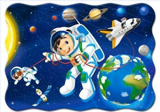 Пазл 30 элементов Кастор Открытый космос midi В-03594 пазл 55 элементов кастор времена года