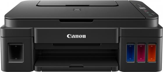 МФУ Canon PIXMA G2411 (Струйный, СНПЧ, 4800x1200, 8,8 изобр./мин для ч/б, 5,0 изобр./мин для цветной, A4, A5, B5, LTR, конверт, фотобумага: 13x18 см, canon снпч для моделей pixma mp520