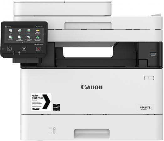 МФУ Canon I-SENSYS MF428x ч/б А4 38ppm 1200x1200 DADF Duplex Ethernet Wi-Fi USB Fax 2222C006 мфу canon i sensys mf428x