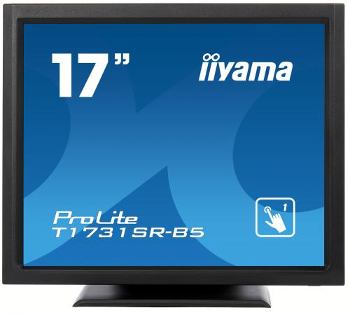 Монитор 17 iiYama ProLite T1731SR-5 черный TN 1280x1024 200 cd/m^2 5 ms HDMI DisplayPort VGA Аудио USB монитор 17 dell e1715s черный tn 1280x1024 250 cd m^2 5 ms displayport vga 1715 8107