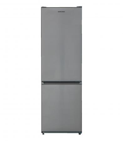 Холодильник SHIVAKI BMR-1884NFX нержавеющая сталь холодильник shivaki bmr 1883dnfx двухкамерный нержавеющая сталь