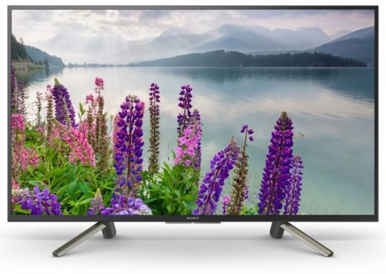 """Плазменный телевизор LED 43"""" SONY KDL43WF804BR серебристый черный 1920x1080 50 Гц Smart TV Wi-Fi RJ-45 цена и фото"""