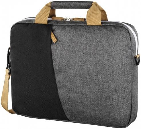 Сумка для ноутбука 13.3 HAMA Florence полиэстер черный серый 00101567