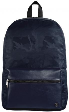 Рюкзак для ноутбука 15.6 HAMA Mission Camo полиэстер полиуретан синий камуфляж 00101844 рюкзак hama camo select 15 6 черный камуфляж