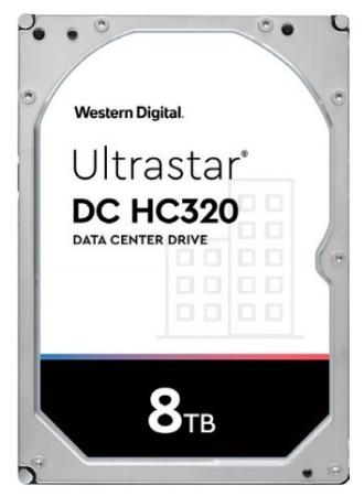Фото - Жесткий диск 3.5 8 Tb 7200rpm 256Mb cache Western Digital Ultrastar DC HC320 SATA III 6 Gb/s жесткий диск 3 5 10 tb 7200rpm 256mb cache western digital purple wd101purz sata iii 6 gb s