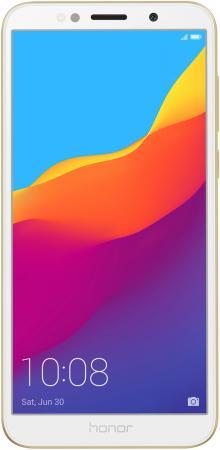 Смартфон Honor 7A золотистый 5.45 16 Гб LTE Wi-Fi GPS 3G 51092MUV