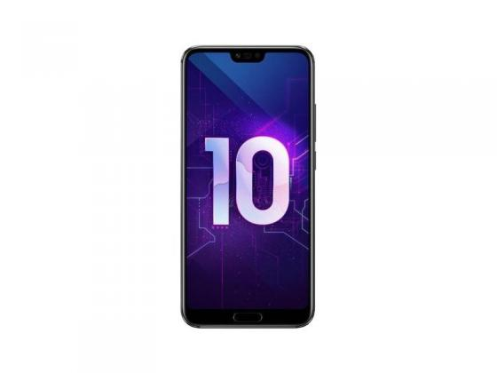 Смартфон Honor 10 черный 5.84 64 Гб NFC LTE Wi-Fi GPS 3G 51092JVU смартфон honor 7x 64 гб черный bnd l21 51091ytx